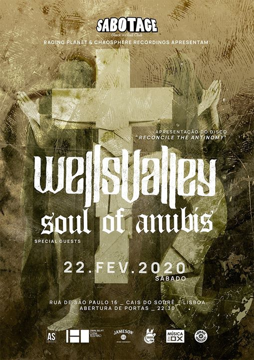 Wells Valley + Soul of Anubis | Sabotage Club
