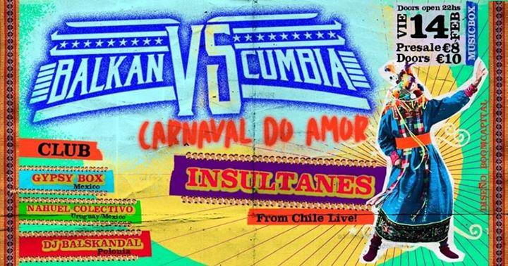 Balkan Vs Cumbia // Lisboa Carnaval do Amor //