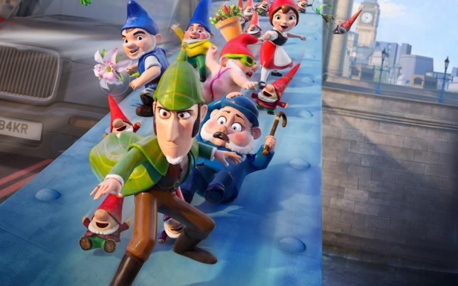 CINEMA INFANTIL: SHERLOCK GNOMES