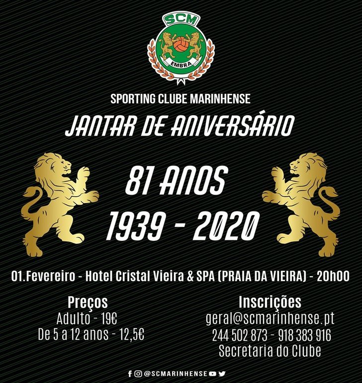 Jantar de Aniversário do Sporting ...