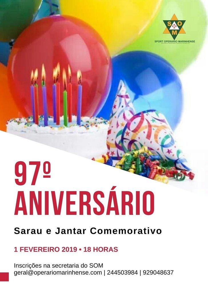 97º aniversário do Sport Operário ...