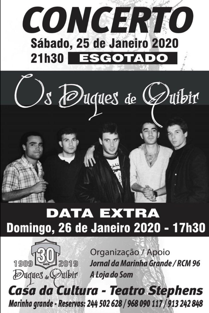 Duques de Quibir em concerto - Data ...