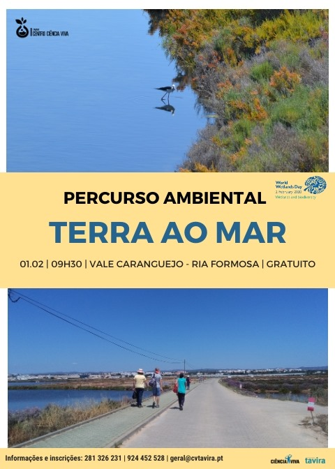 """Percurso """"Da Terra ao Mar"""""""