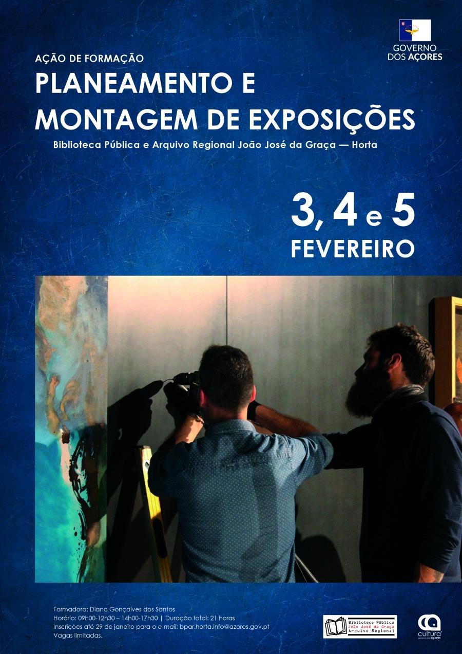 Ação de Formação «Planeamento e Montagem de Exposições»