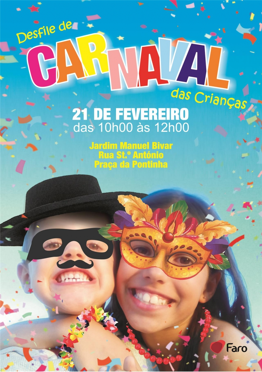 Desfile de Carnaval das crianças