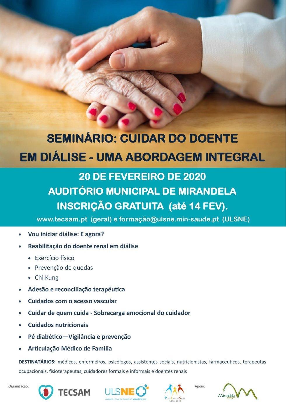 Seminário: Cuidar do Doente em Diálise