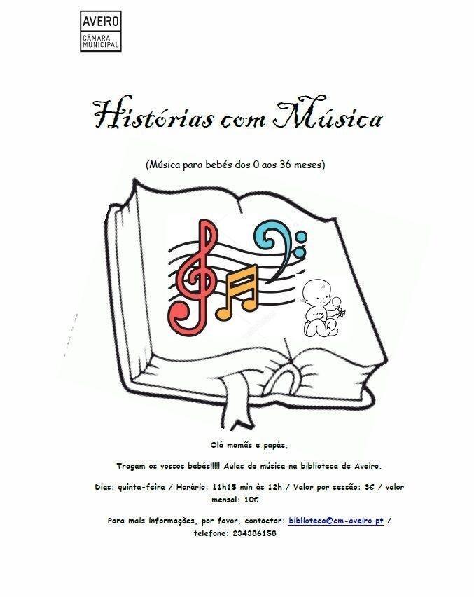 Histórias com Música