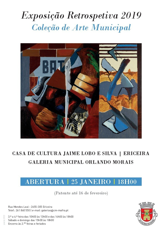 Exposição Retrospetiva 2019 'Coleção de Arte Municipal'