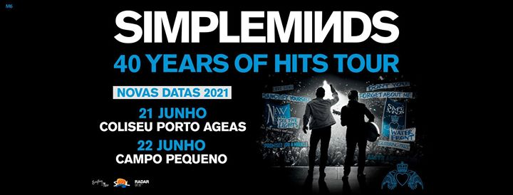 Nova Data: Simple Minds no Coliseu Porto Ageas