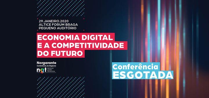 Conferência Economia digital e a competitividade do futuro