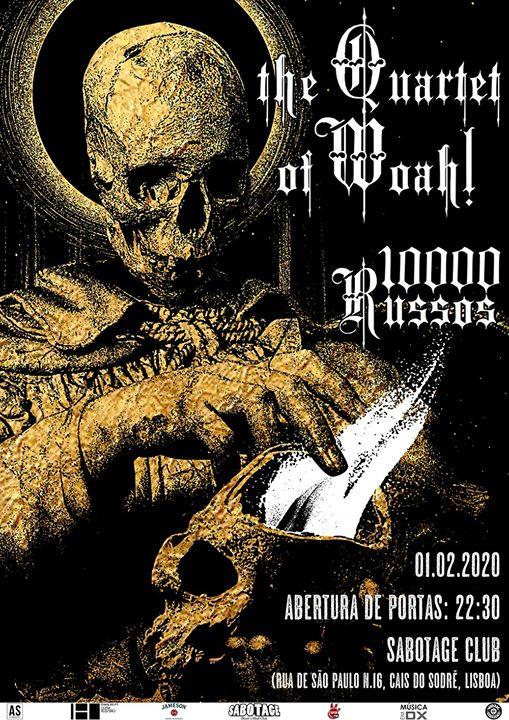 The Quartet of Woah! + 10 000 Russos | Sabotage Club