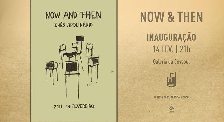 Now & Then – instalação de Inês Apolinário