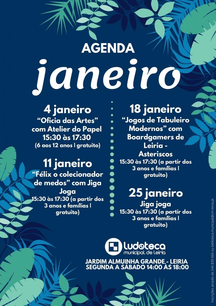 Agenda Dezembro: Ludoteca Municipal de Leiria