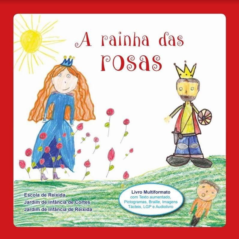 """Exposição dos desenhos do livro """"A rainha das rosas"""""""