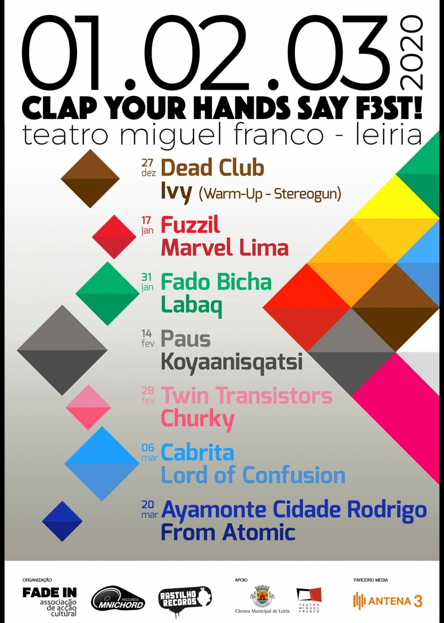 CLAP YOUR HANDS SAY F3ST!