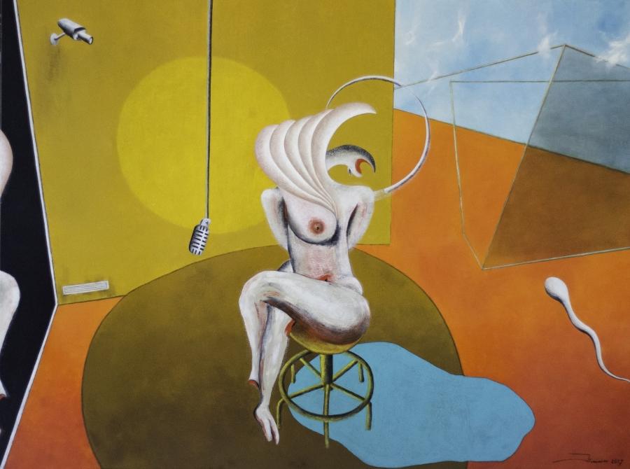 Permanência | Pintura e Escultura de Jorge Francisco: Pan-óptico