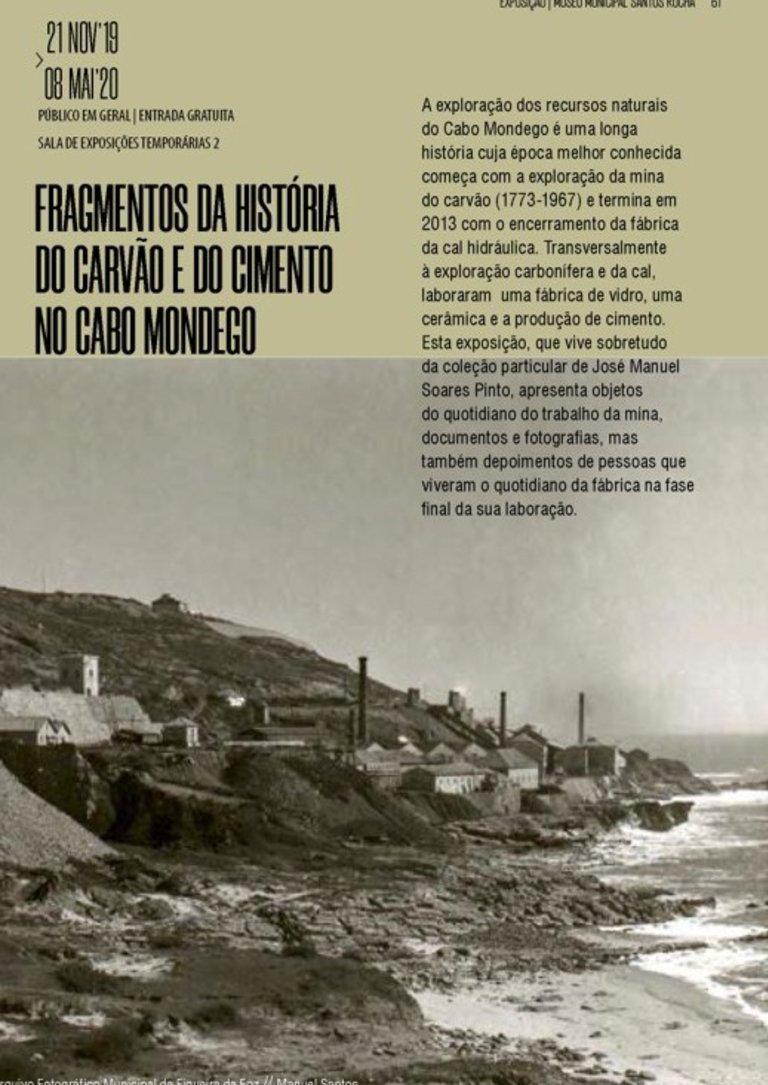 Fragmentos da História do Carvão e do Cimento no Cabo Mondego