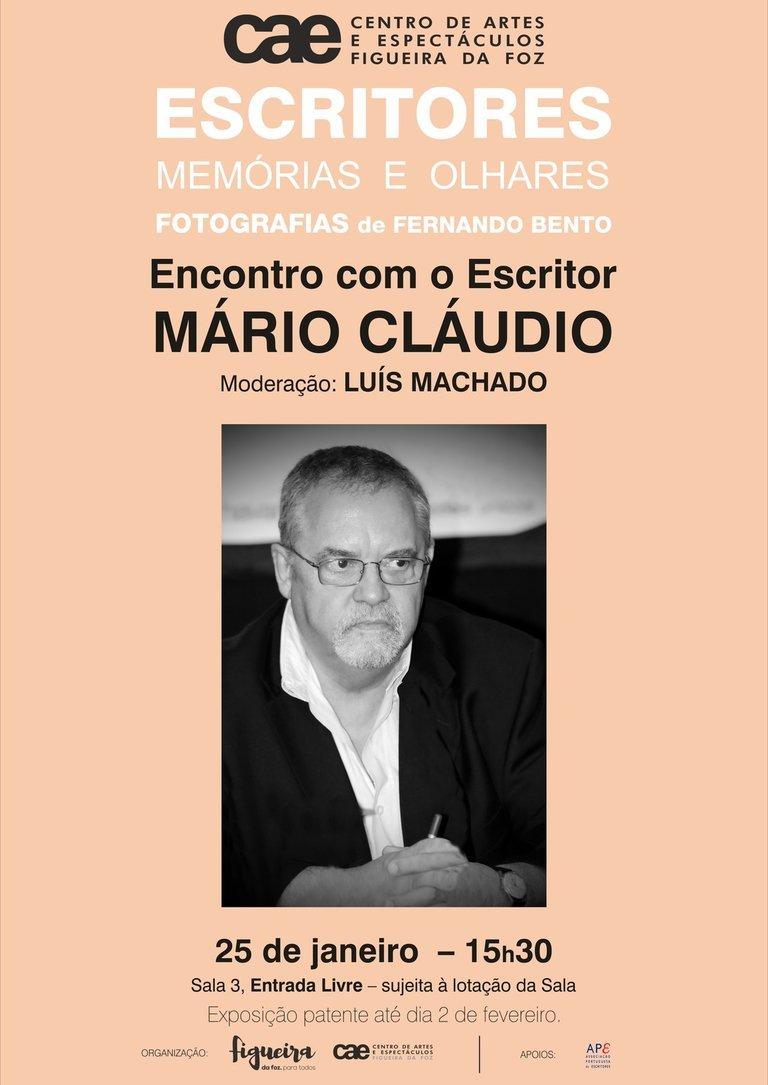 Encontro/Conversa com o Escritor Mário Cláudio