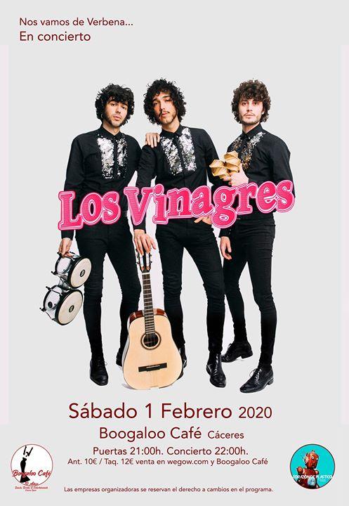 Los Vinagres concierto en Boogaloo Cáceres