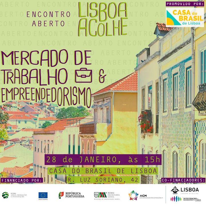 Quinto Encontro Aberto - Construção do Portal Lisboa Acolhe