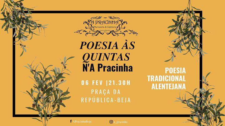 Poesia às Quintas #2 - Poesia Tradicional Alentejana