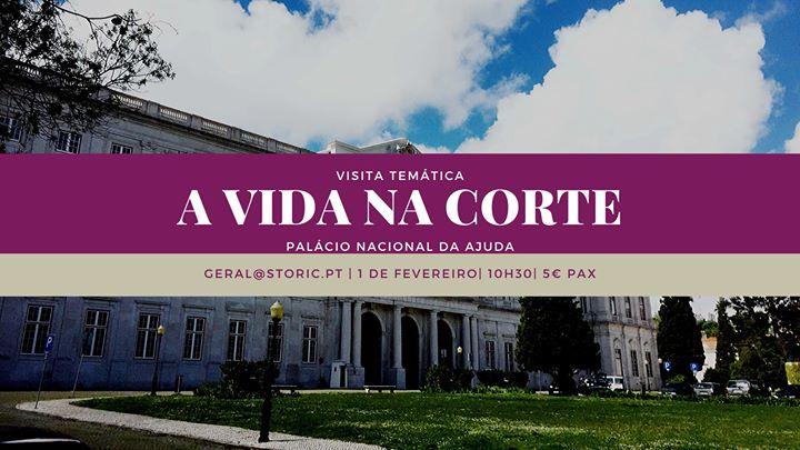 Visita ao Palácio Nacional da Ajuda