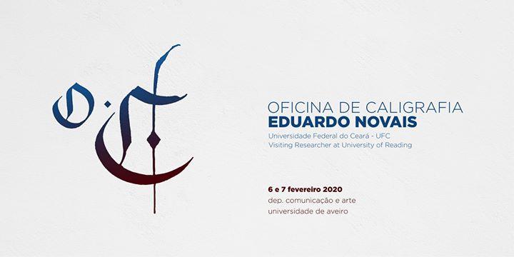 Oficina de Caligrafia com Eduardo Novais