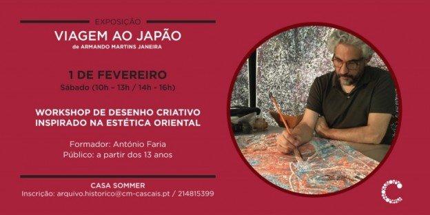 Workshop de Desenho Criativo Inspirado na Estética Oriental   por António Faria