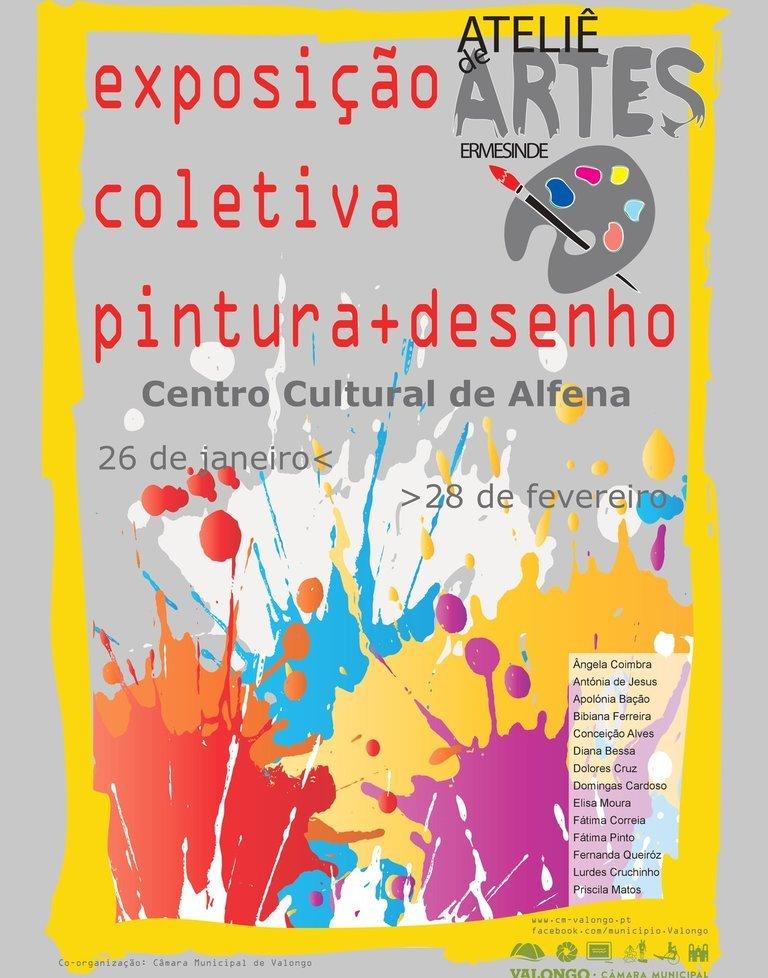 Seniores do Ateliê de Artes de Ermesinde ...