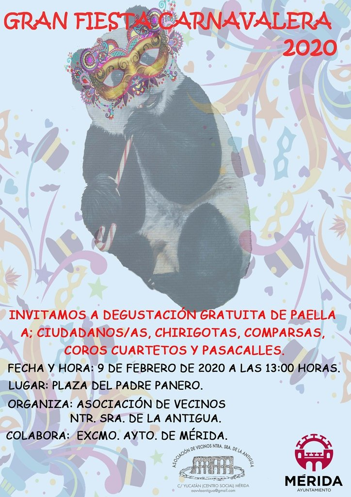 Gran Fiesta Carnavalera de La Antigua
