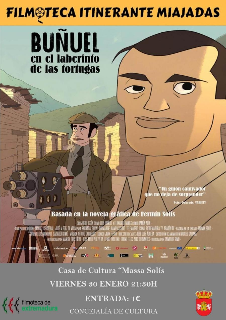 La filmoteca itinerante: Buñuel en el laberinto de las tortugas