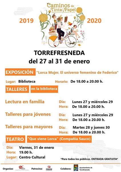 Caminos de Tinta y Papel en Torrefresneda