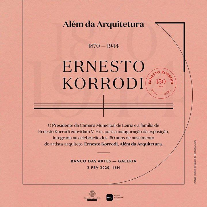 Inauguração da exposição | Ernesto Korrodi: Além da Arquitetura