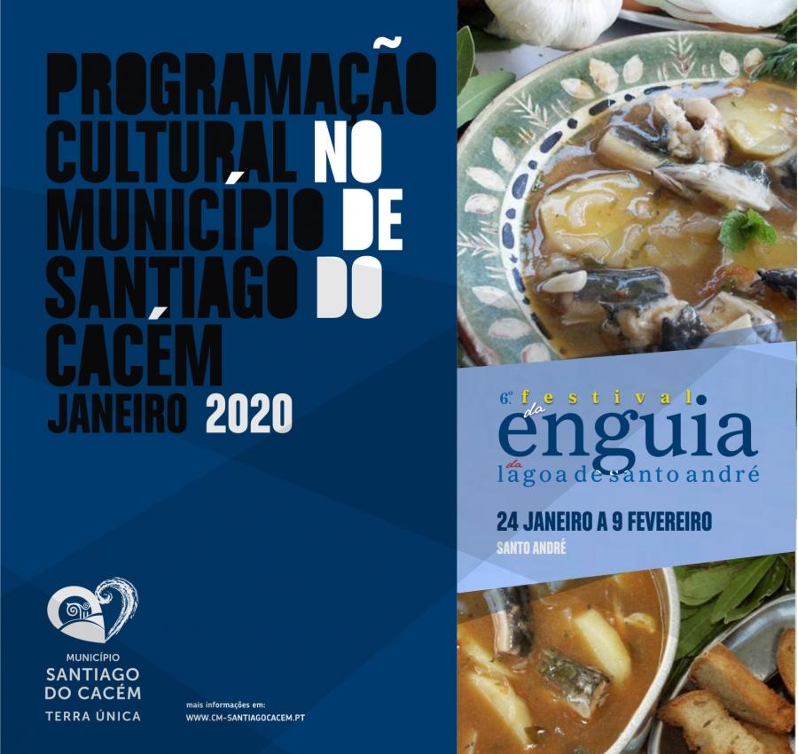 Agenda Cultural janeiro de 2020