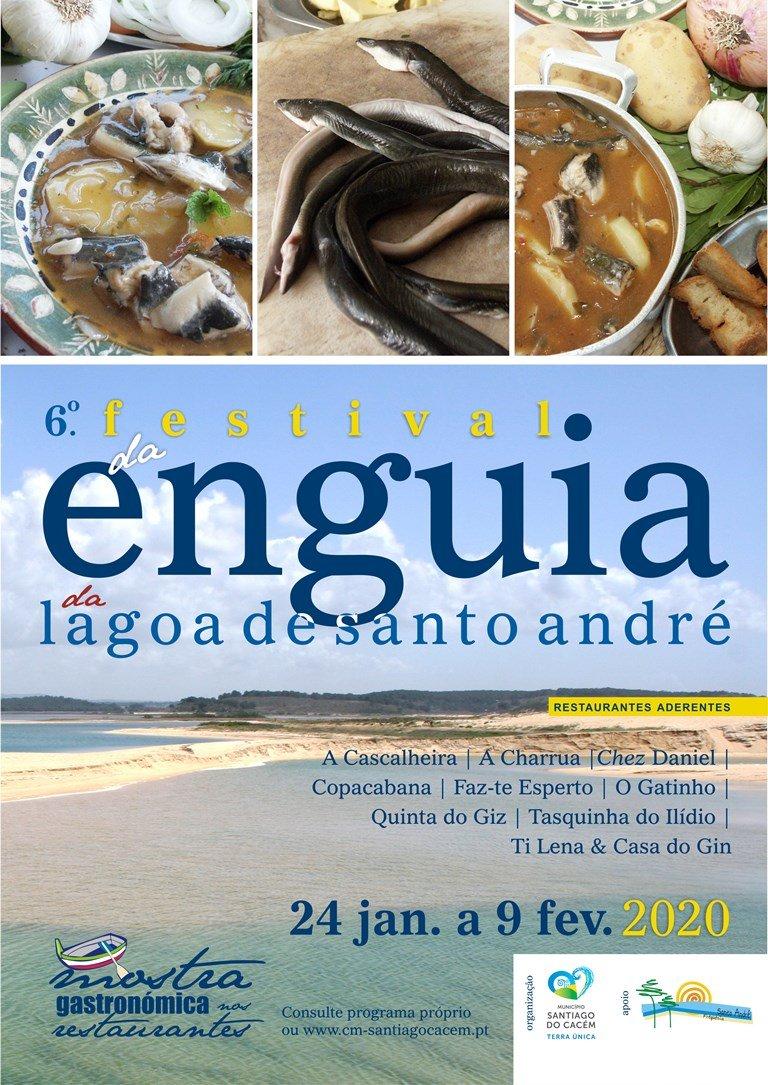 6.º Festival da Enguia da Lagoa de Santo André