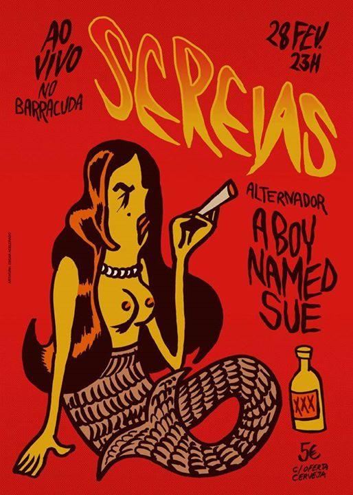Sereias & A Boy Named Sue