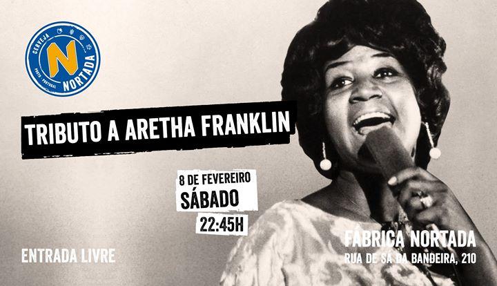 Tributo a Aretha Franklin - Fábrica Nortada