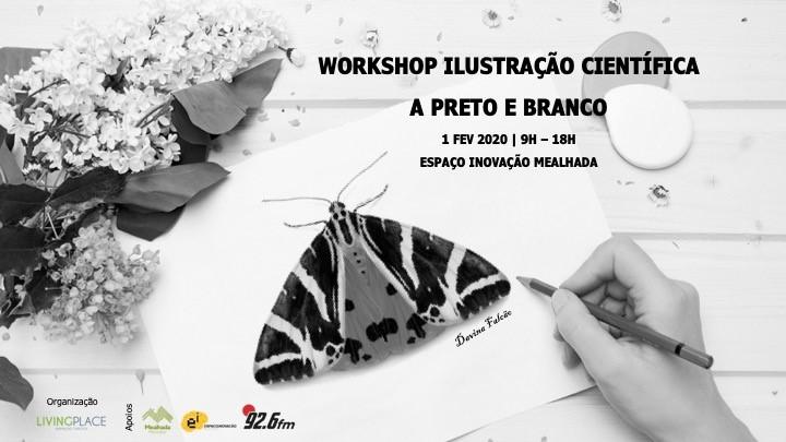 Workshop de Ilustração Científica - Preto e Branco
