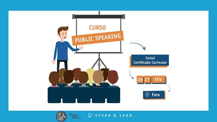 Curso Public Speaking - Faro