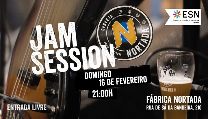 Jam Session x ESN - Fábrica Nortada