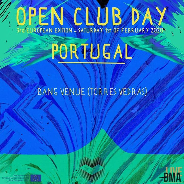 European Open Club Day | Entrada livre - Bang Venue