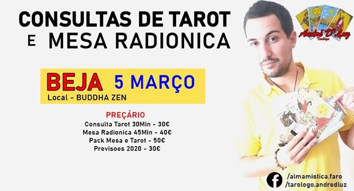 Tarot e Mesa Radionica com Tarologo Andre DLuz