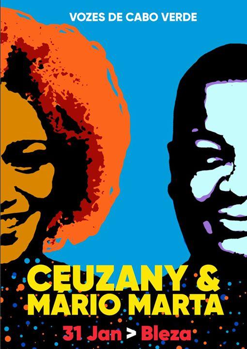 Vozes de Cabo Verde apresenta Ceuzany e Mário Marta_Bleza