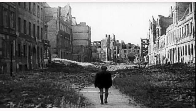 Cinema de Segunda   Ciclo Rossellini - Alemanha, Ano Zero