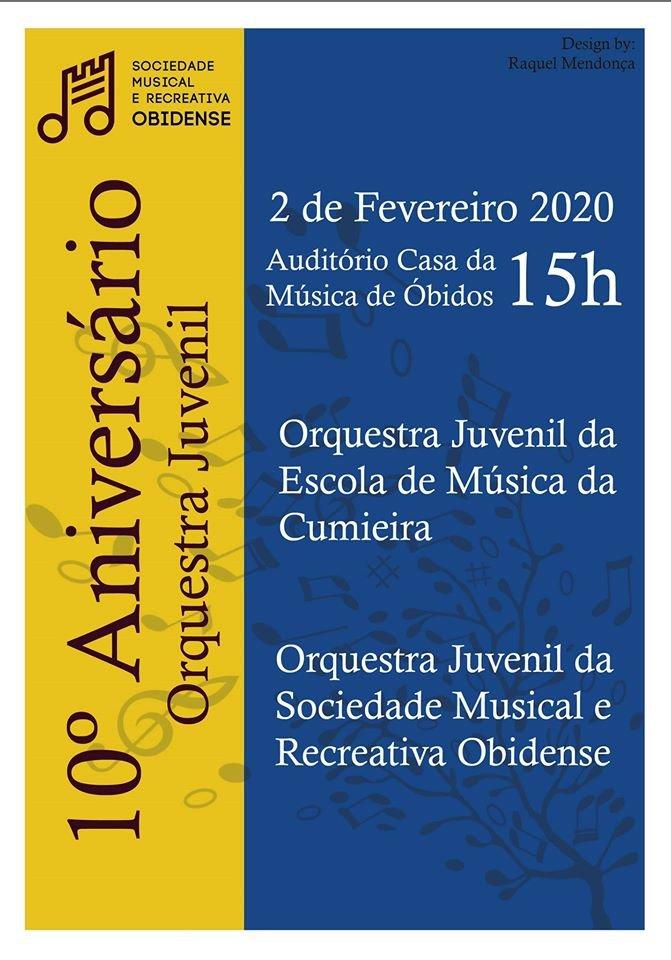 10º Aniversário Orquestra Juvenil