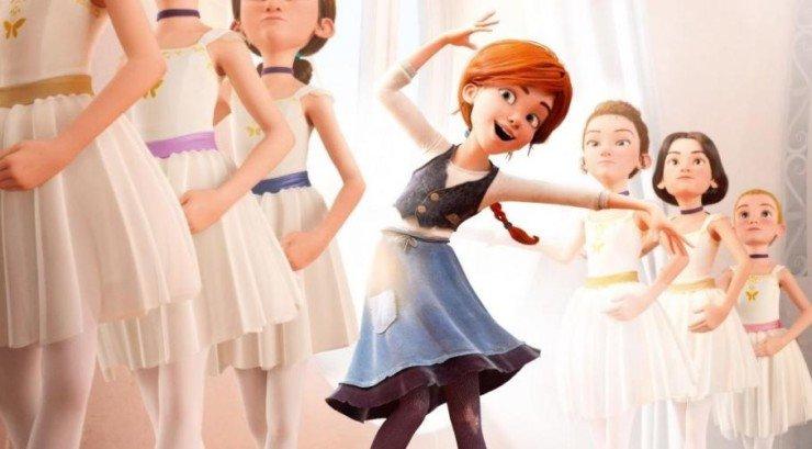 """Cinema de Animação: """"A Bailarina"""""""