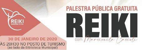 Palestra Publica REIKI - 30 Janeiro - ...