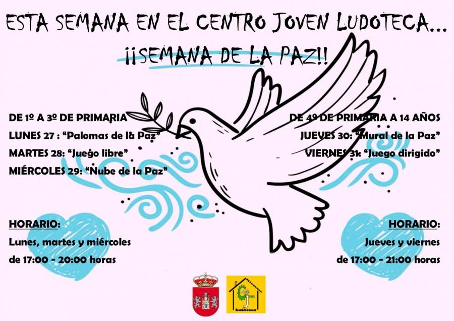 Centro Joven Ludoteca temática: Semana de la Paz