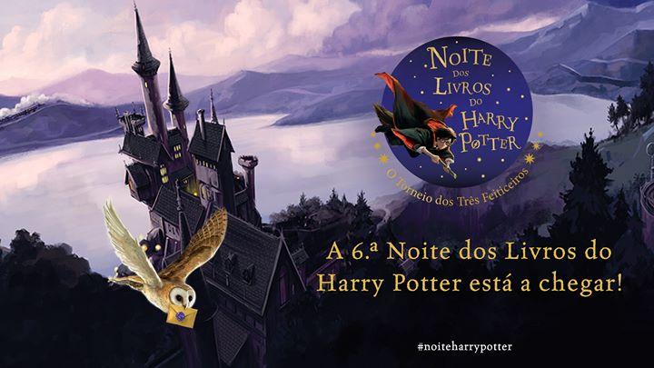 Noite dos Livros de Harry Potter 2020