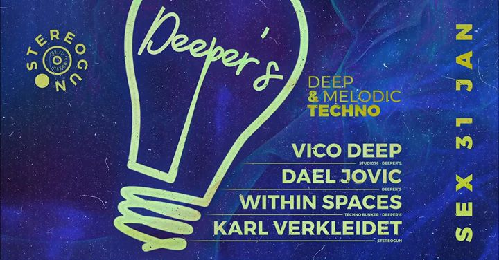 Deeper's Club (Deep & Melodic Techno) na Stereogun